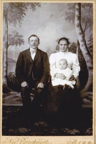 Limbažnieku Jirgensonu ģimene Rīgā