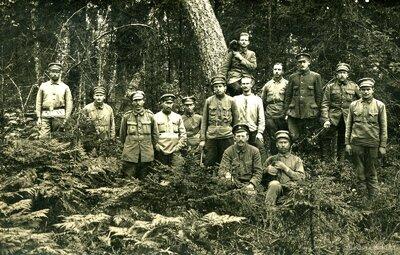 4. Valmieras kājnieku pulka karavīri Votjevā