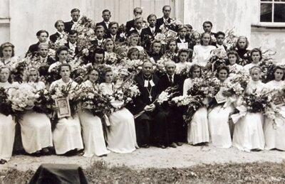 Sēlpils. Iesvētības Biržu luterāņu baznīcā