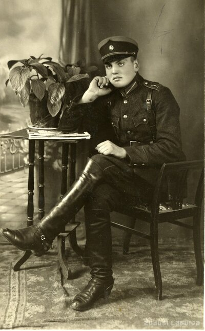 Latvijas armijas virsnieks