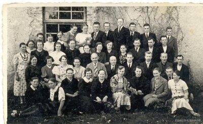 Grūbes papes fabrikas īpašnieki un darbinieki