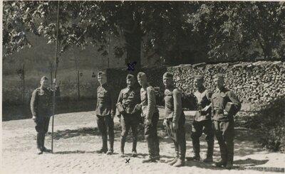 4. Valmieras kājnieku pulka kareivji