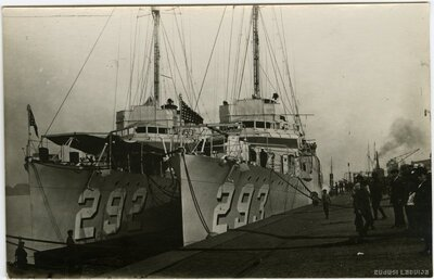 ASV kara kuģi Rīgā