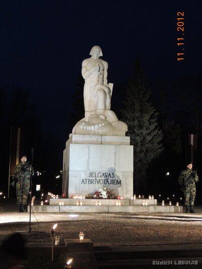 Piemineklis Jelgavas atbrīvotājiem
