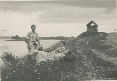 Rīgas ģimnāzisti pārgājienā Latgalē