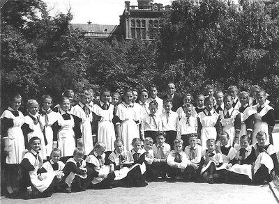 Kroņauces A.Brigaderes skolas koris Rīgā