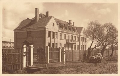 Krustpils cukurfabrikas kantora ēka