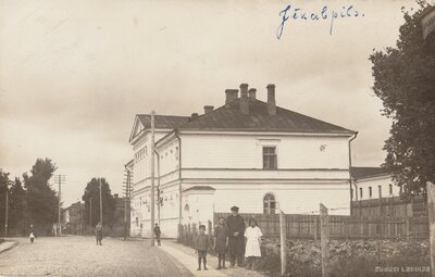 Jēkabpils. Miertiesas un cietuma ēkas
