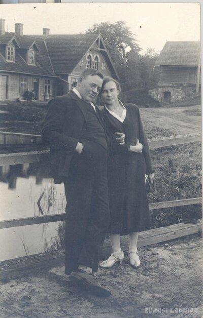 Madliena. Edvarts Augusts Lielmanis un Milda Lielmane