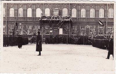 Daugavpils pilsētas atbrīvošanas piemiņas plāksnes atklāšana