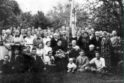 Vietalva. A.Jankava 90. gadu jubilejas svinību dalībnieki
