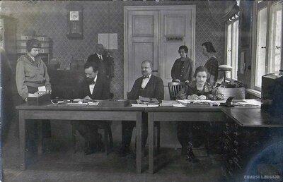 Rīgas mājkalpotāju slimo kases telpa