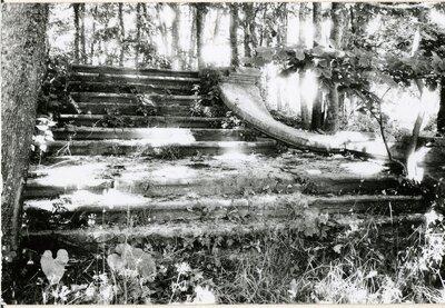 Ulmales muiža. Uzejas kāpnes