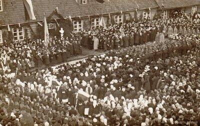 Valmiera. Romanovu dinastijas 300 gadu valdīšanas jubilejas svinības