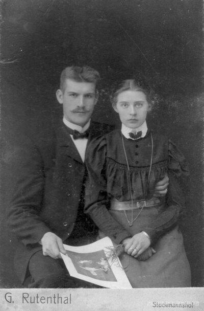 Jānis Kalvjaks un Milda Siliņa