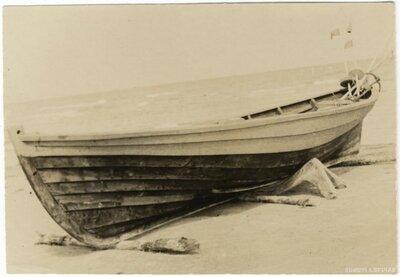 Rojas novads. Zvejas laiva