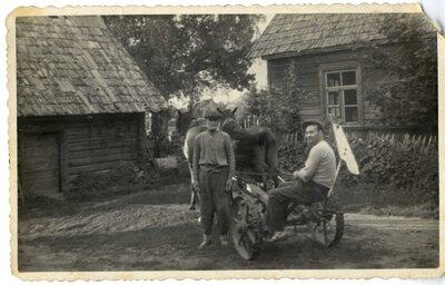 Krišjāņu pagasts Žogu ciems. ''Inčukalnu'' mājas