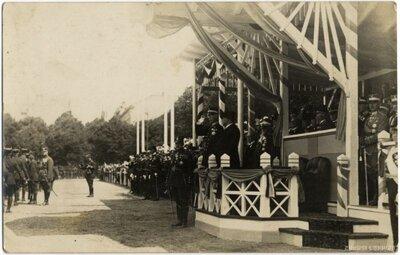 Rīga. Zviedrijas karaļa Gustava V vizīte