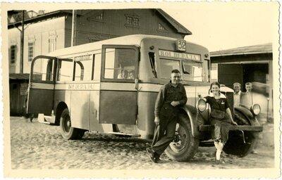 Rīga. Pasažieru autobuss