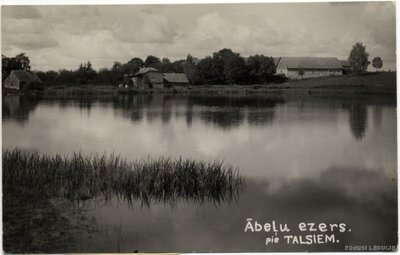 Lībagu pagasts. Ābeļu ezers