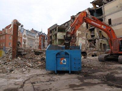 Rīgas Tehniskās universitātes ēkas nojaukšana