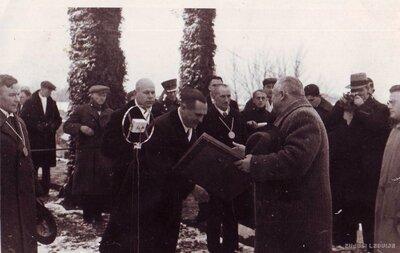 Jēkabpils. Tilta atklāšanas ceremonija