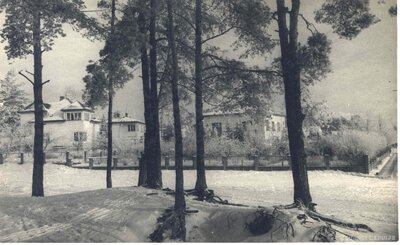 Mežaparks. Stoholmas un Velmes ielu stūris
