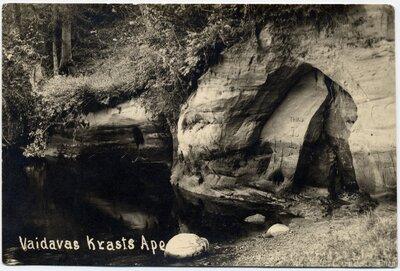 Vaidavas krasta klints Apē