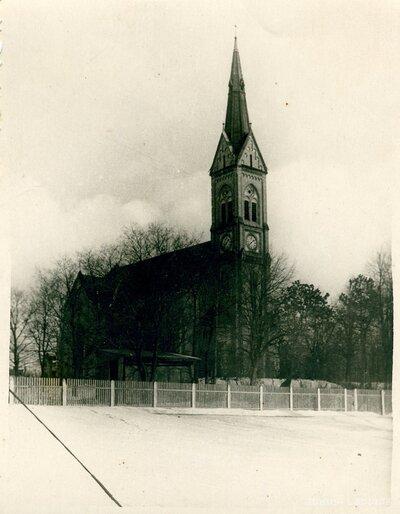 Rīga. Lutera baznīca