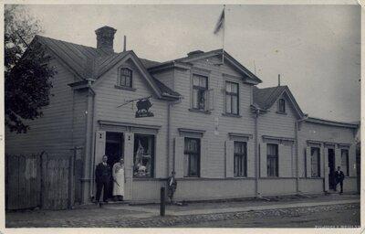 Rīga. Koka māja Bauskas ielā