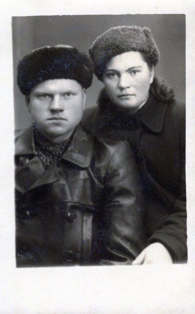 Ludvigs Rikmanis un Anna Rikmane