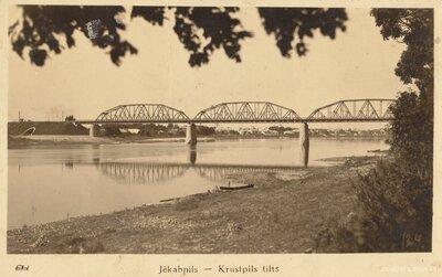 Krustpils - Jēkabpils tilts pār Daugavu