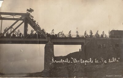 Zeļķu tilta atklāšana