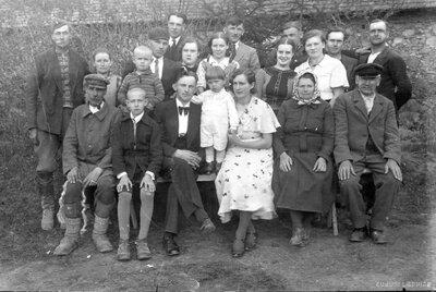 Nīkrāces pagasts. Mājas ''Dēnišķi''