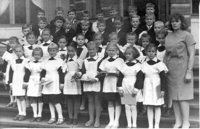 Pirmā klase. Rīgas 9. astoņgadīgā skola