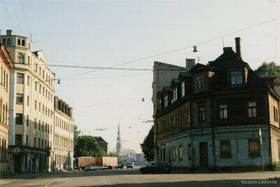 Rīga. Akmeņu iela