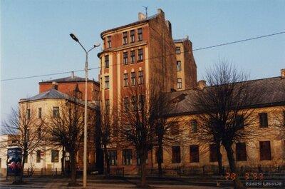 Rīga. Nami 13. janvāra ielā
