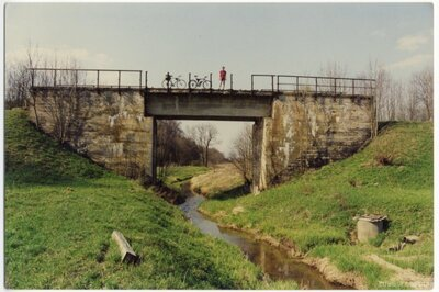 Projektētais dzelzceļa tilts pār Sloceni