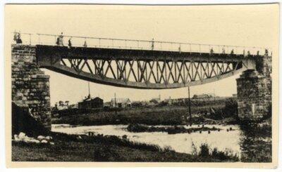 Zilupes novads. Dzelzceļa tilts pār Zilupi