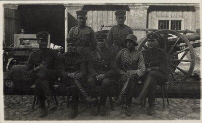 Daugavpils. Latvijas armijas virsseržanti un instruktori