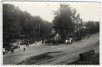 Daugavpils. Latvijas armijas jātnieku pulks