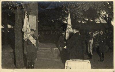 Daugavpils. Latvijas armija piemiņas svētbrīdī