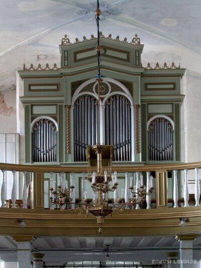 Limbažu evaņģēliski luteriskās baznīcas ērģeles