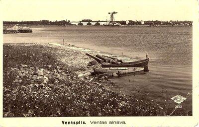 Ventspils ostas un Ventas ainava