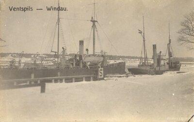 Ventspils osta ziemā
