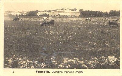 Ventspils. Ventmalas ainava