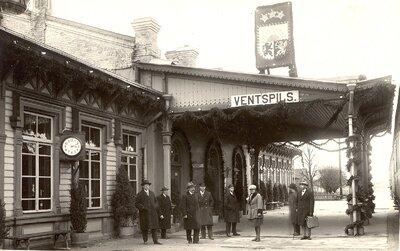 Ventspils dzelzceļa pasažieru stacija