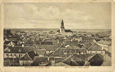 Ventspils 1860.gadā