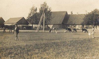 Zaņas pagasts. Baltais krogs