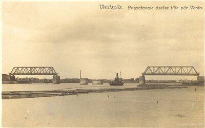 Ventspils. Dzelzs tilts